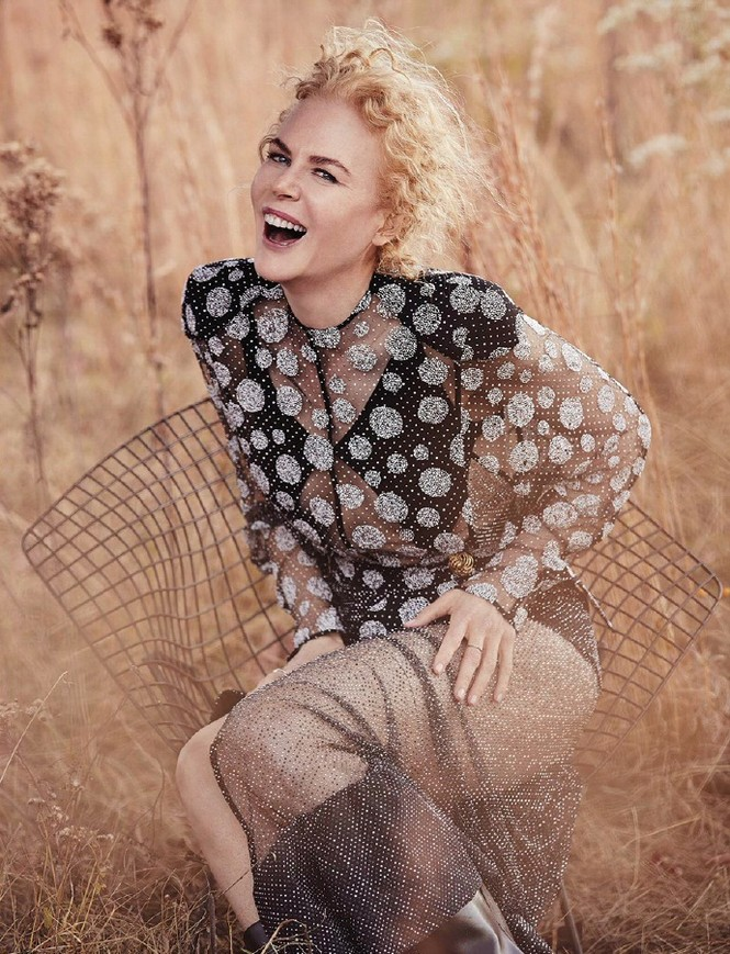 người đẹp,trang phục,vẻ đẹp,quyến rũ,phong cách,tạp chí,Vogue,gợi cảm, Nicole Kidman, Tom Cruise - ảnh 3
