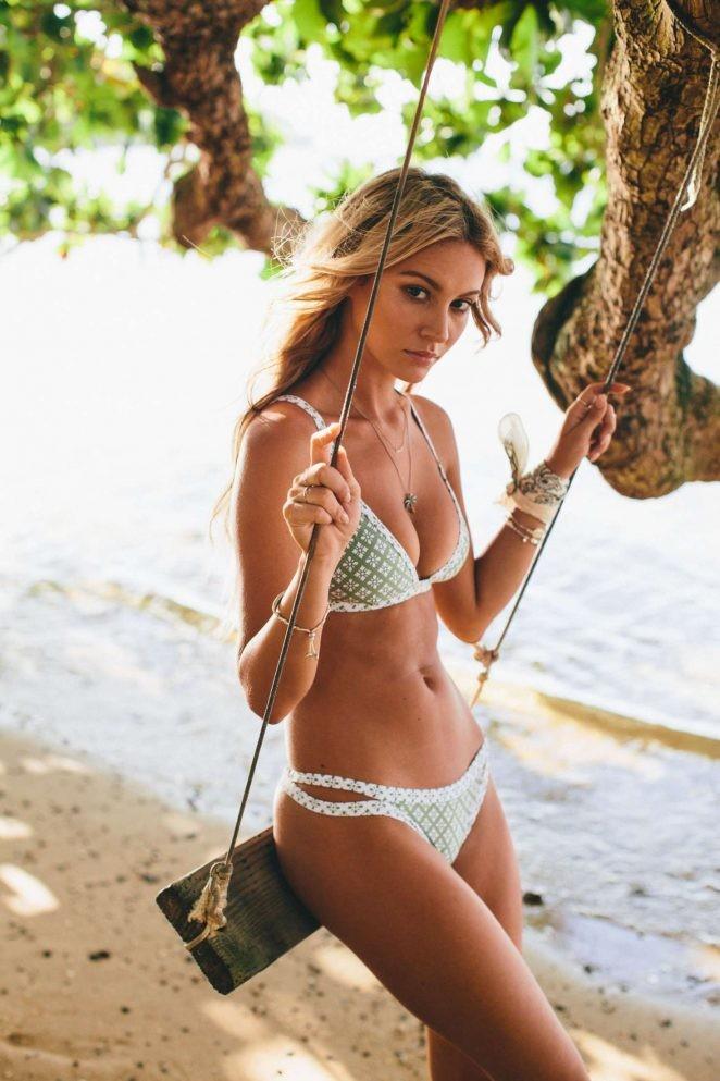 người mẫu,người đẹp,vẻ đẹp,váy,tạp chí,hãng thời trang,bikini,chiều cao, Bryana Holly - ảnh 12