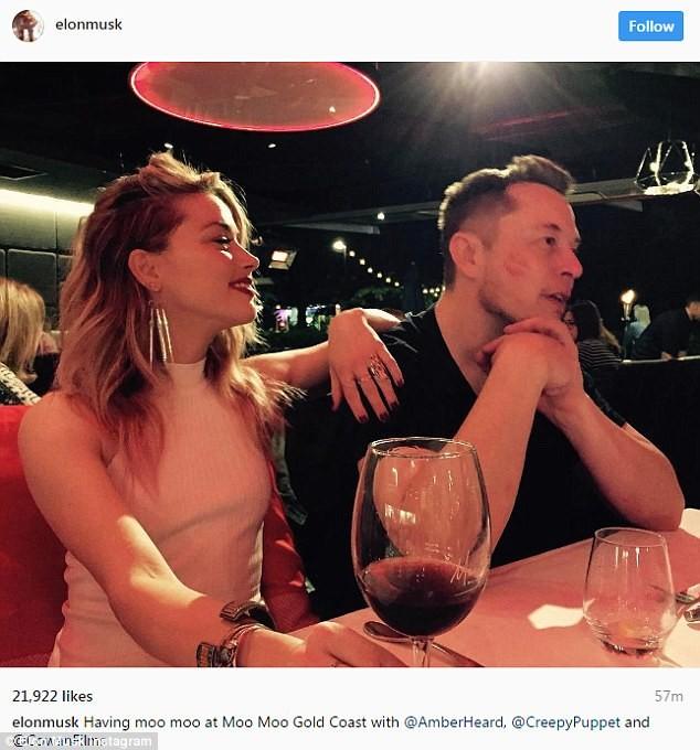 Vợ cũ Johnny Depp đang yêu tỉ phú Elon Musk - ảnh 2