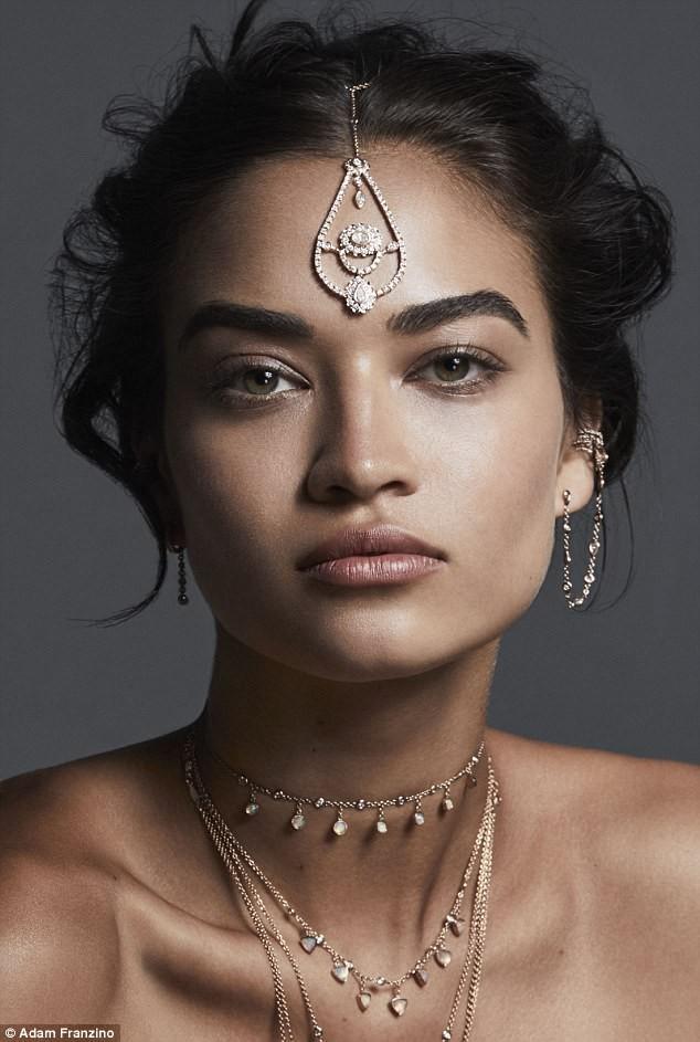 Sắc vóc gợi cảm không tì vết của nàng mẫu lai Shanina Shaik - ảnh 26