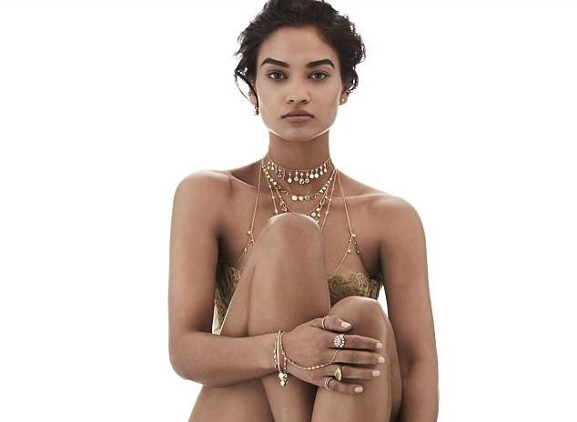 Sắc vóc gợi cảm không tì vết của nàng mẫu lai Shanina Shaik - ảnh 19