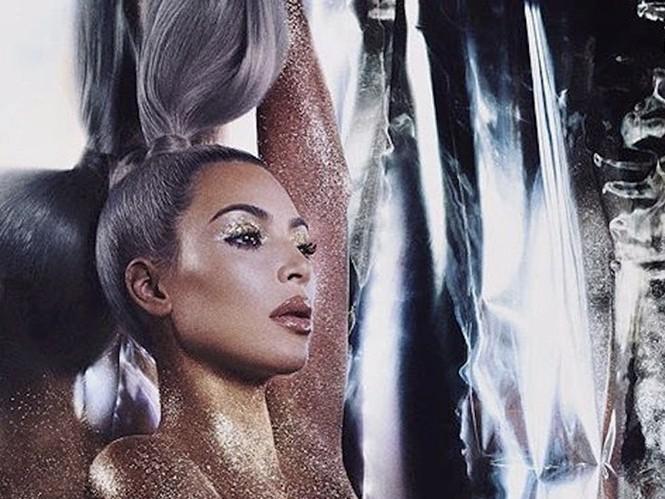 Kim Kardashian diện đầm ôm cắt xẻ khoe dáng đồng hồ cát - ảnh 8