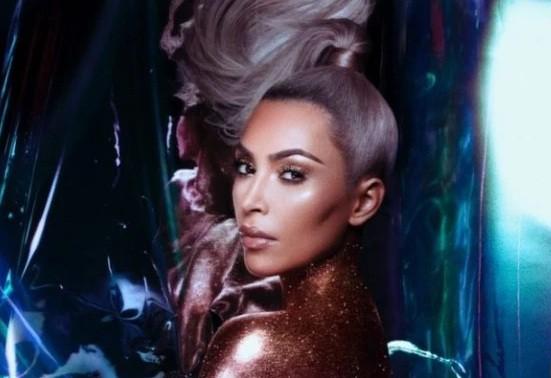 Kim Kardashian diện đầm ôm cắt xẻ khoe dáng đồng hồ cát - ảnh 7
