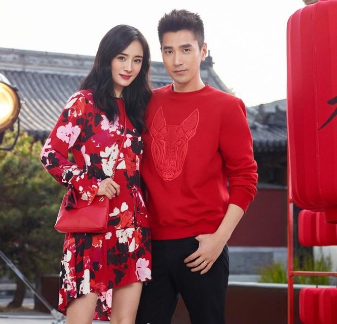 Dương Mịch thời trang H&M - ảnh 1