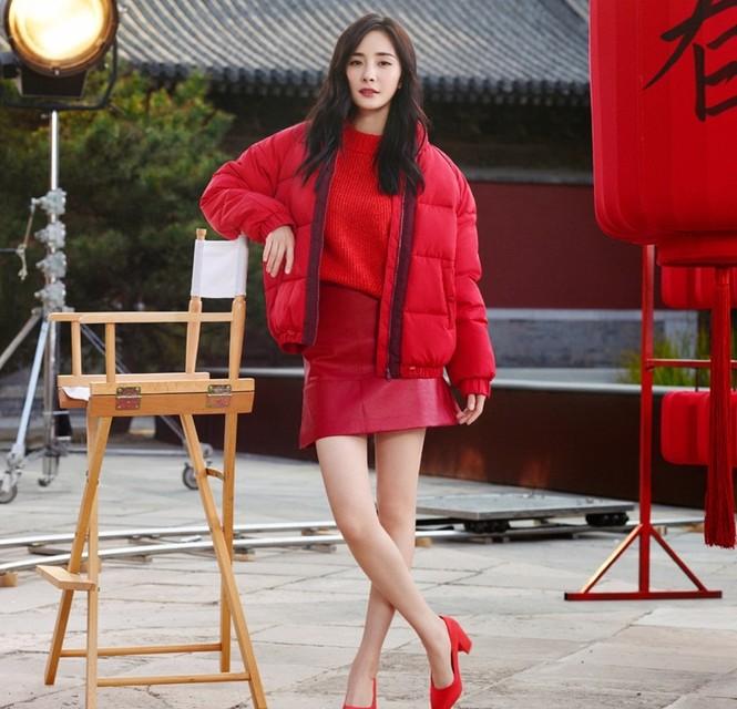 Dương Mịch thời trang H&M - ảnh 6