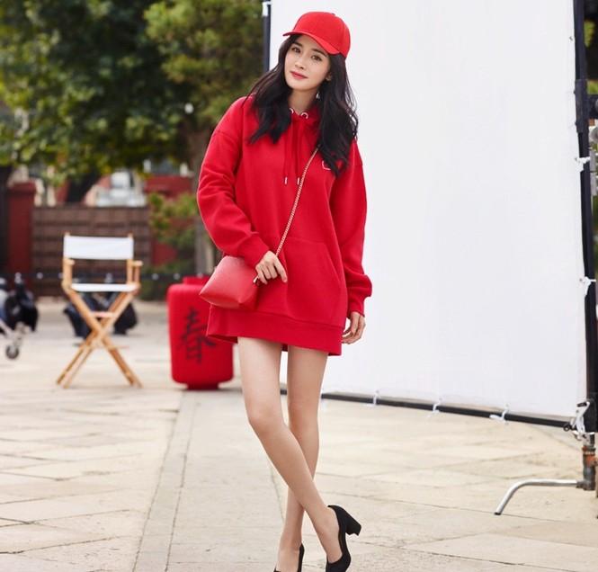 Dương Mịch thời trang H&M - ảnh 7