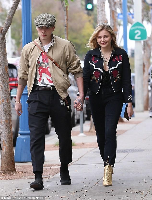 Brooklyn Beckham, Harper Beckham - ảnh 1