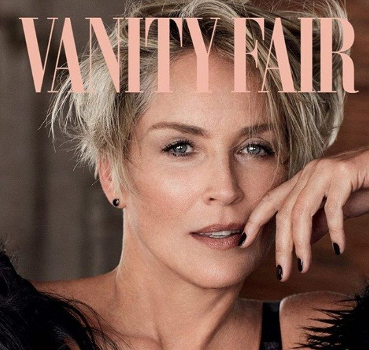 Sharon Stone Cindy Crawford - ảnh 11