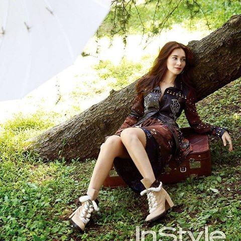 Celina Jade Han Geng, Lư Tĩnh San Hàn Canh - ảnh 14