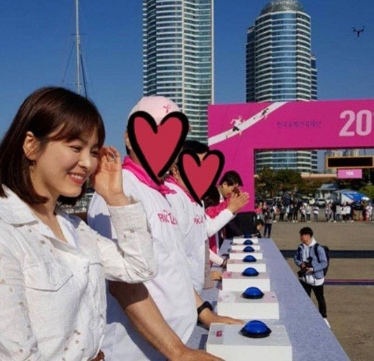 Song Hye Kyo xinh tươi rạng ngời - ảnh 6