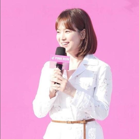 Song Hye Kyo xinh tươi rạng ngời - ảnh 2