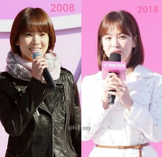 Song Hye Kyo xinh tươi rạng ngời - ảnh 15