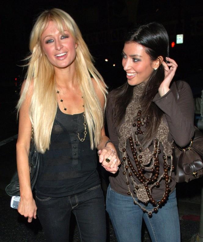 Kim Kardashian Paris Hilton - ảnh 2