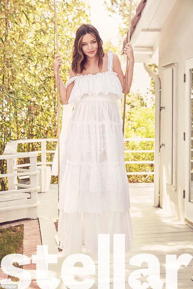 Miranda Kerr bụng bầu lớn - ảnh 5