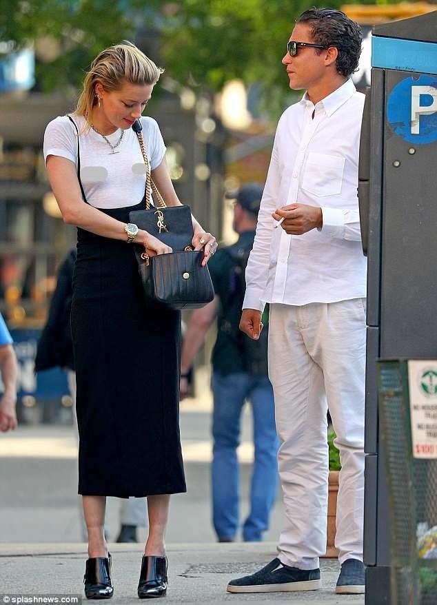 Táo bạo bỏ nội y, vợ cũ Johnny Depp tay trong tay tình cũ Heidi Klum - ảnh 8