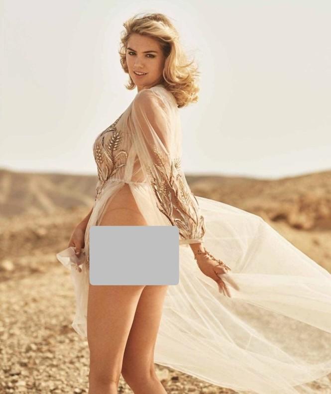 Mỹ nữ gợi tình Kate Upton quá đỗi nóng bỏng giữa hoang mạc Israel - ảnh 4