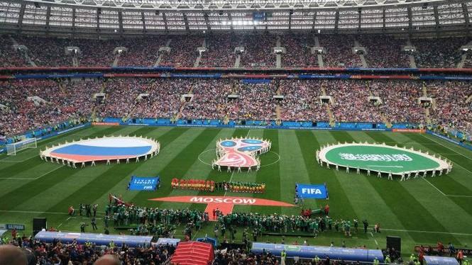 lễ khai mạc World Cup 2018 - ảnh 3