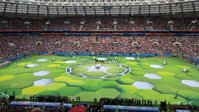 lễ khai mạc World Cup 2018 - ảnh 9