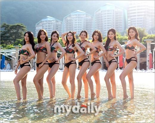 Dàn thí sinh Hoa hậu Hàn Quốc 2018 diện bikini sắc vóc gợi cảm  - ảnh 3