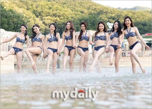 Dàn thí sinh Hoa hậu Hàn Quốc 2018 diện bikini sắc vóc gợi cảm  - ảnh 8