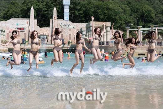 Dàn thí sinh Hoa hậu Hàn Quốc 2018 diện bikini sắc vóc gợi cảm  - ảnh 11