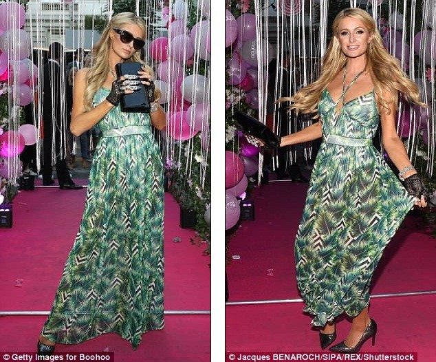 Paris Hilton sang chảnh, đắm đuối 'khóa môi' tình trẻ  - ảnh 5