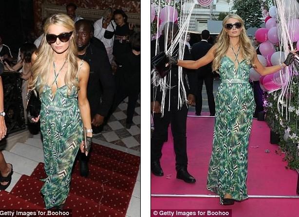 Paris Hilton sang chảnh, đắm đuối 'khóa môi' tình trẻ  - ảnh 6