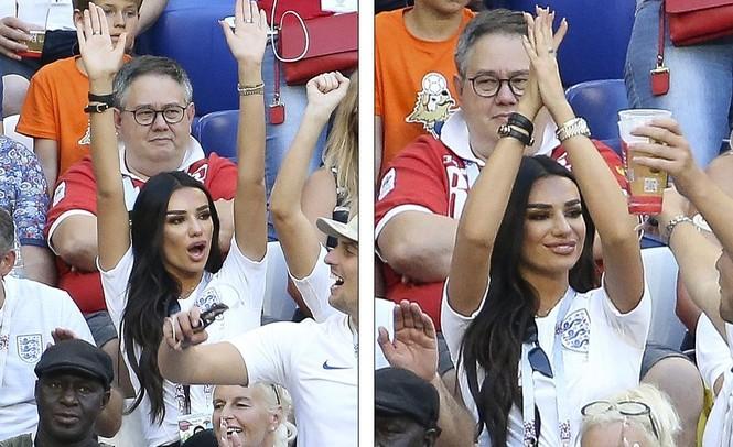 Vợ và bạn gái vỡ òa khi tuyển Anh thắng Thụy Điển vào bán kết  - ảnh 7