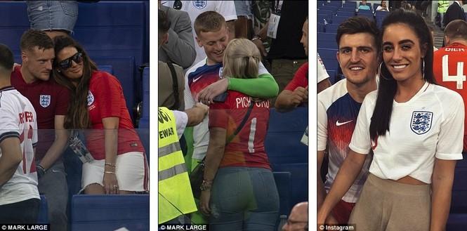 Vợ và bạn gái vỡ òa khi tuyển Anh thắng Thụy Điển vào bán kết  - ảnh 1