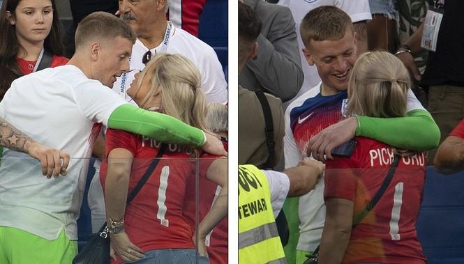 Vợ và bạn gái vỡ òa khi tuyển Anh thắng Thụy Điển vào bán kết  - ảnh 5