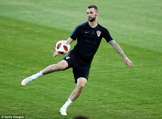 Sân tập của tuyển Croatia nhộn nhịp trước cuộc đọ sức với Anh - ảnh 7