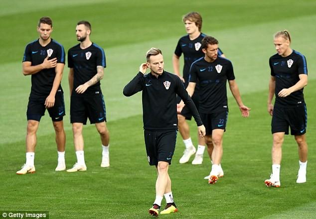 Sân tập của tuyển Croatia nhộn nhịp trước cuộc đọ sức với Anh - ảnh 1