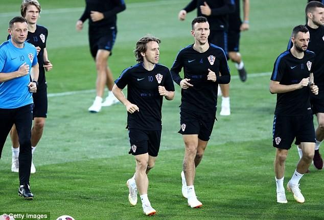 Sân tập của tuyển Croatia nhộn nhịp trước cuộc đọ sức với Anh - ảnh 3
