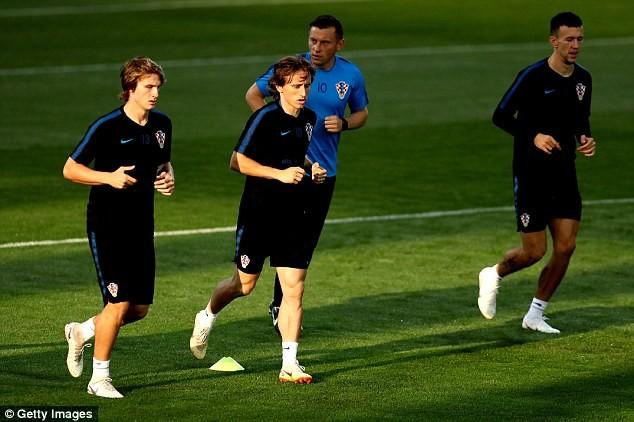 Sân tập của tuyển Croatia nhộn nhịp trước cuộc đọ sức với Anh - ảnh 4