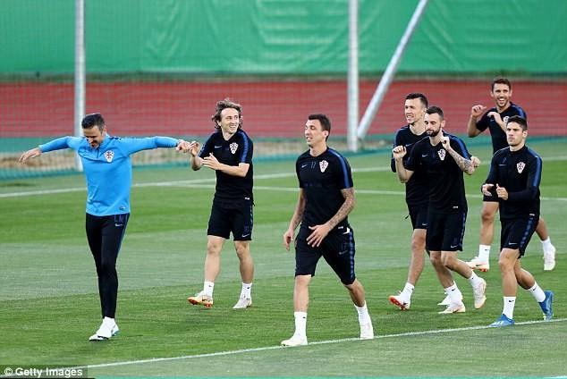 Sân tập của tuyển Croatia nhộn nhịp trước cuộc đọ sức với Anh - ảnh 5
