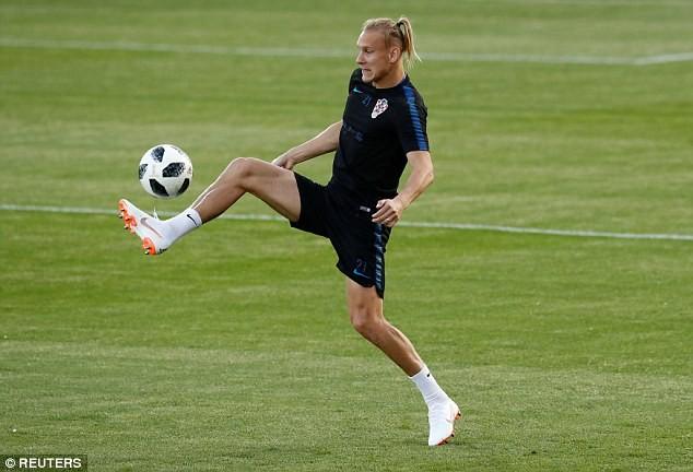Sân tập của tuyển Croatia nhộn nhịp trước cuộc đọ sức với Anh - ảnh 9