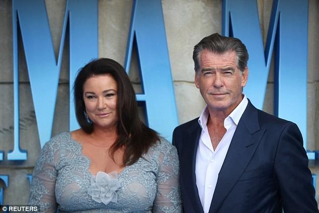 'Điệp viên 007' Pierce Brosnan tái ngộ dàn người đẹp Mamma Mia - ảnh 10
