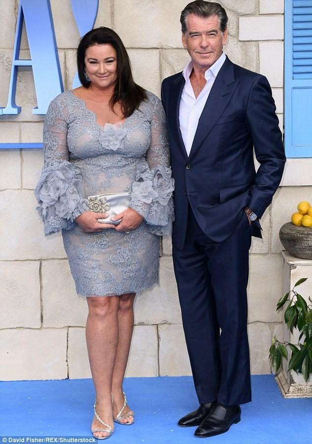 'Điệp viên 007' Pierce Brosnan tái ngộ dàn người đẹp Mamma Mia - ảnh 8