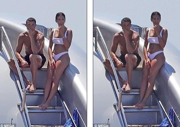 Cô bồ Ronaldo chân dài quyến rũ ở Milan - ảnh 11