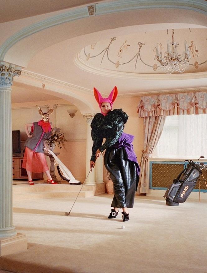 Thiên thần nội y Adriana Lima hóa bà nội trợ nổi loạn siêu quyến rũ - ảnh 5