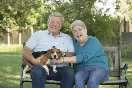 Hi hữu: Hai vợ chồng cùng bị ung thư vú - ảnh 1