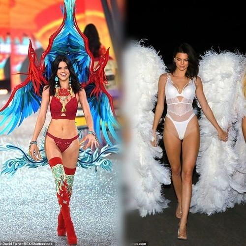 Chị em nhà Kim Kardashian hóa thân thành thiên thần nội y  - ảnh 12