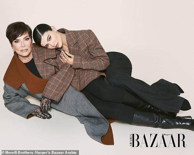Cô út tỉ phú nhà Kardashian cùng mẹ và con gái sang chảnh trên bìa Bazaar - ảnh 5