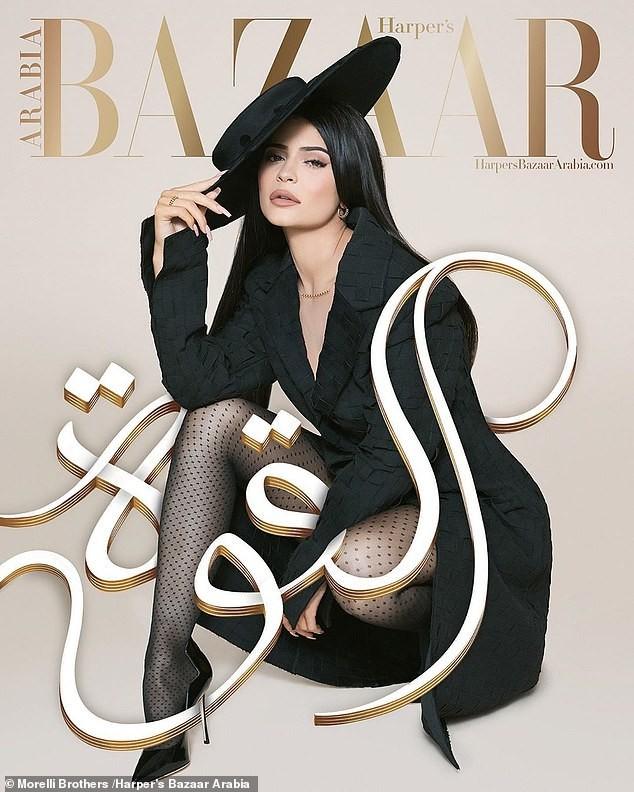 Cô út tỉ phú nhà Kardashian cùng mẹ và con gái sang chảnh trên bìa Bazaar - ảnh 8