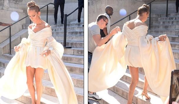 Celine Dion hóa nữ hoàng gợi cảm ở tuổi 51 - ảnh 4
