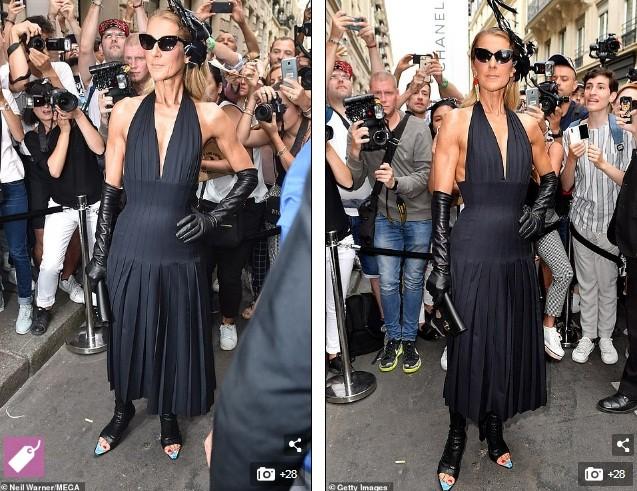 Celine Dion hóa nữ hoàng gợi cảm ở tuổi 51 - ảnh 8