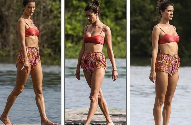 Siêu mẫu xứ Samba Alessandra Ambrosio U40 vẫn quá đỗi gợi cảm - ảnh 14