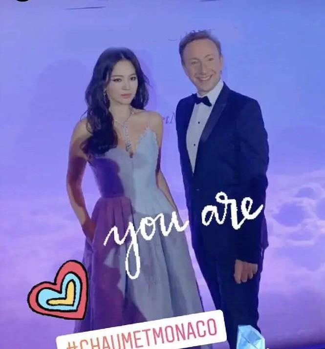 Song Hye Kyo gợi cảm với nhan sắc đỉnh cao ở Monaco - ảnh 4