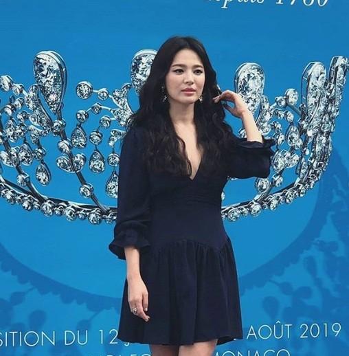 Song Hye Kyo gợi cảm với nhan sắc đỉnh cao ở Monaco - ảnh 8