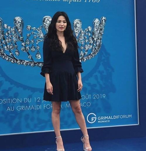 Song Hye Kyo gợi cảm với nhan sắc đỉnh cao ở Monaco - ảnh 10